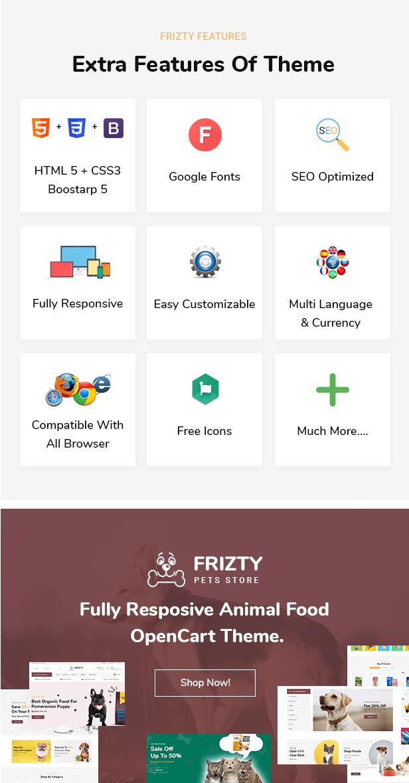 Frizty Opencart Theme