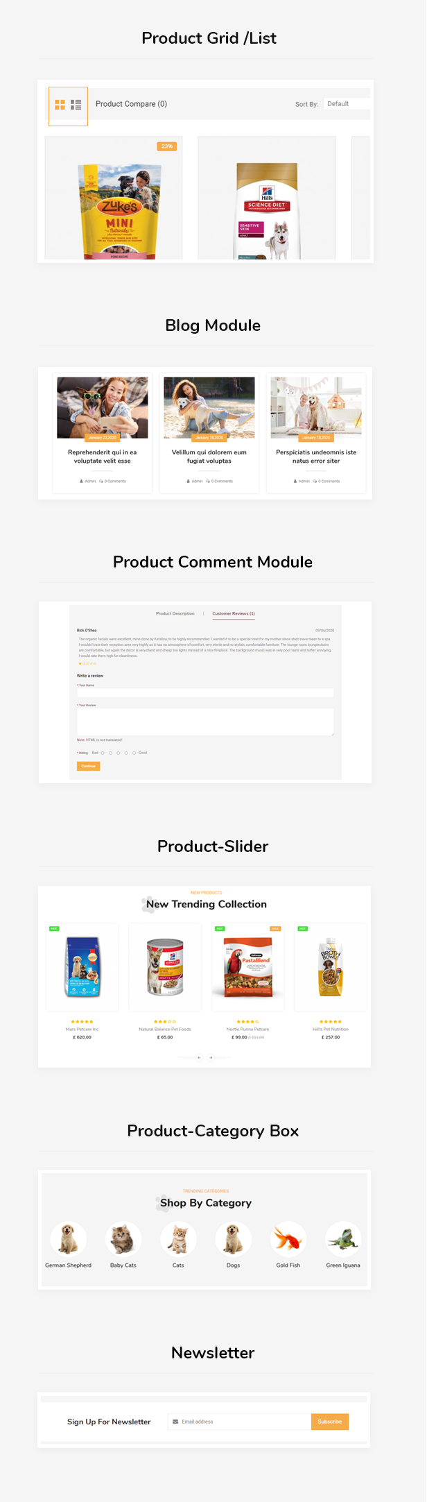 Pets Food WooCommerce Theme